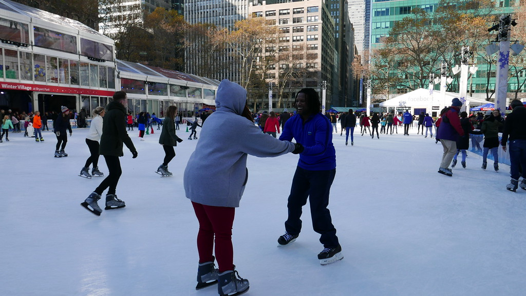 Bryant park skating rink