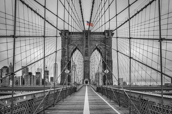 Brooklyn Bridge B&W