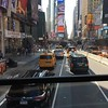 Times Square from the hop-on-hop-off bus