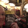 "Sheryl in the theatre showing ""An American in Paris"""