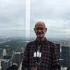 Ken at the Top of the Rock with Central Park in background