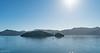 Allports Island with many small sailboats around.