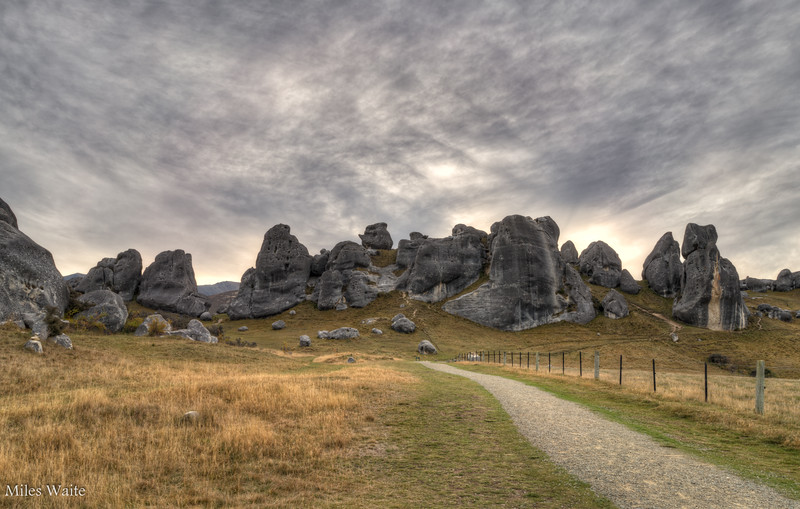 My not as moody color shoot of the massive rocks at Castle Hill.