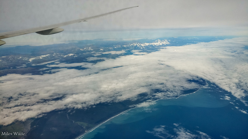 My first view of New Zealand!
