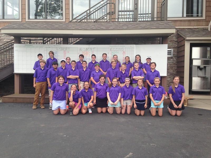 2016 Notre Dame Golf Club, 5-8th grade