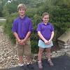 3 holes, short tee winners.<br /> Lukas Balling, Maggie McLinden