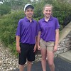 6 hole, long tee winners<br /> Charlie O'Halloran, Lia Thomas