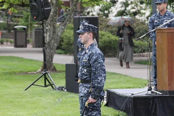 2016 OSU ROTC Joint Service Review