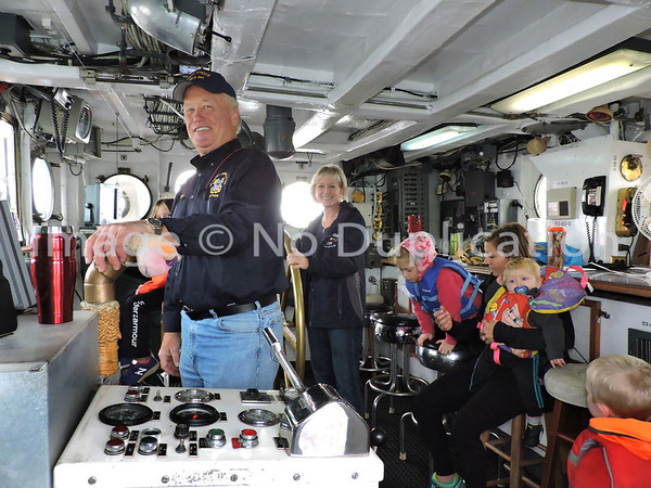 2016, October 1st--Ride on USCGC SUNDEW