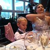 The ring bearer eats some more