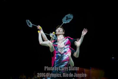 Badminton Double Exposures
