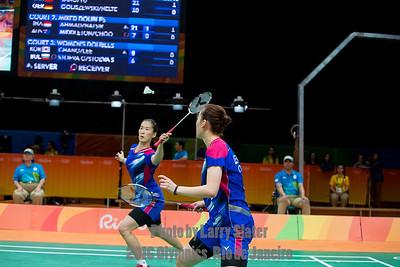 Badminton: 2016 Olympics Rio