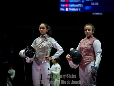 Fencing: 2016 Olympics Rio
