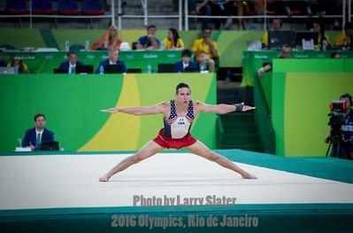 Men's Gymnastics: 2016 Olympics Rio