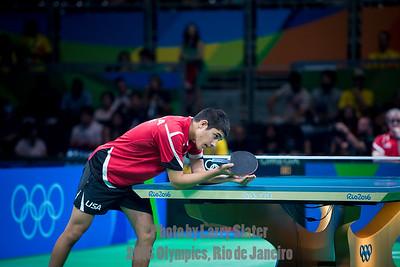 Table Tennis: 2016 Olympics Rio
