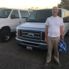 looking at Ford vans after hours (no sales person)