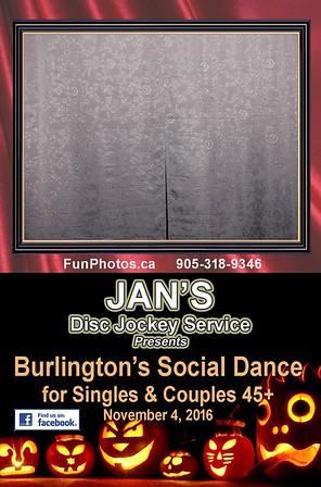November 4 Jan's Social Dance - Halloween