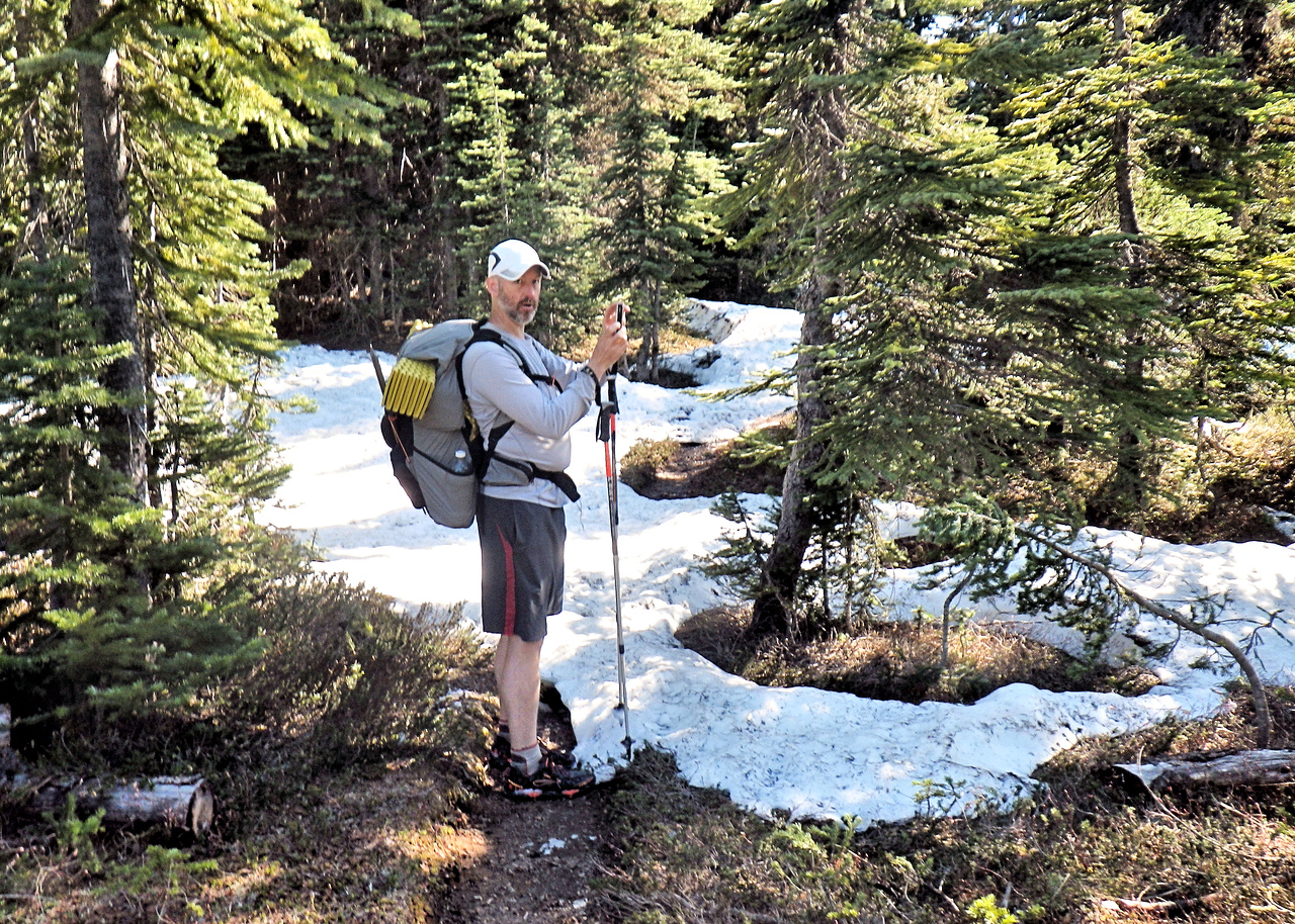 Kirk Snyder<br /> PCT<br /> Washington<br /> North Cascades