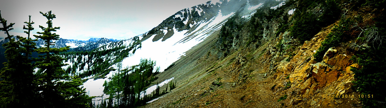 PCT<br /> North Cascades<br /> Hiking<br /> Snow<br /> Trail