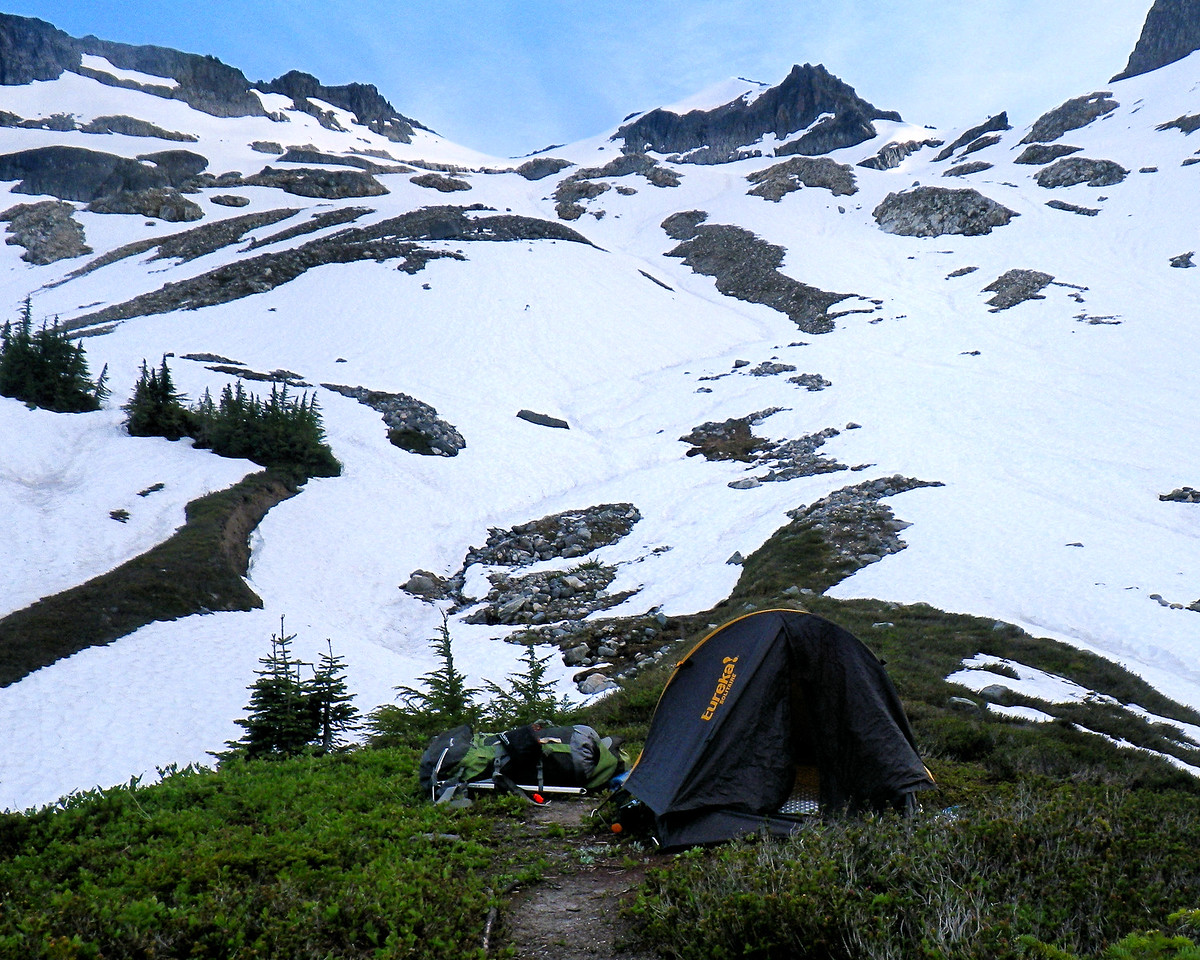 PCT<br /> Trail<br /> Tent<br /> North Cascades