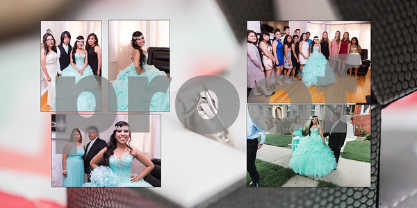 QUINCE PHOTO  ALBUM  PROOFS 2016