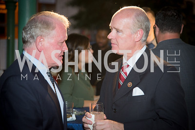 Congressman Leonard Lance, Honoree Congressman Robert Aderholt 16th Annual Dining away Duchenne, Eastern Market, September 13, 2016   .NEF