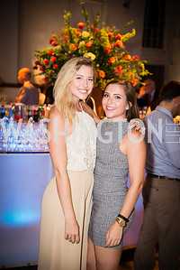 Rachel Sharp, Alyssa McDaniel,16th Annual Dining away Duchenne, Eastern Market, September 13, 2016  .NEF