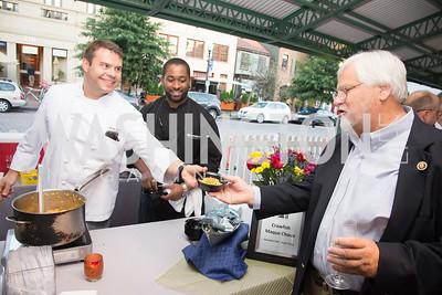 Brant Tesky,Congressman Kenny Marchant,16th Annual Dining away Duchenne, Eastern Market, September 13, 2016.NEF