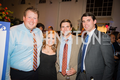 Libby Bish, Davis Priester,Rob Boyce, Morgan Stanley,16th Annual Dining away Duchenne, Eastern Market, September 13, 2016 (1).NEF