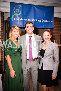 Alex Gleason,Alex Rosen, Maddie Yocum,16th Annual Dining away Duchenne, Eastern Market, September 13, 2016.NEF