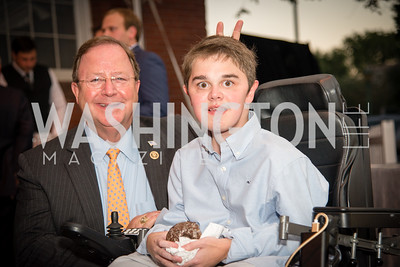 Bill Flores, James Wood,16th Annual Dining away Duchenne, Eastern Market, September 13, 2016 (1).NEF