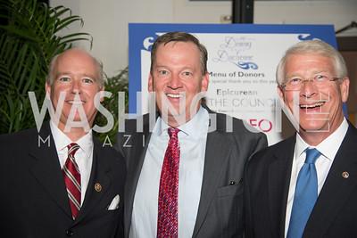 Honoree Congressman  Robert Aderholt, Joel Wood, Event Chair Senator Roger Wicker,16th Annual Dining away Duchenne, Eastern Market, September 13, 2016-4.NEF