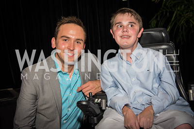 Tommy McFly, James Wood, 16th Annual Dining away Duchenne, Eastern Market, September 13, 2016