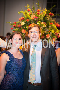 Matthew Majure, Catherine Goshorm,16th Annual Dining away Duchenne, Eastern Market, September 13, 2016.NEF