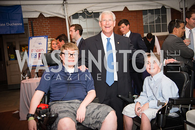 Senator Roger Wicker, James Wood,16th Annual Dining away Duchenne, Eastern Market, September 13, 2016