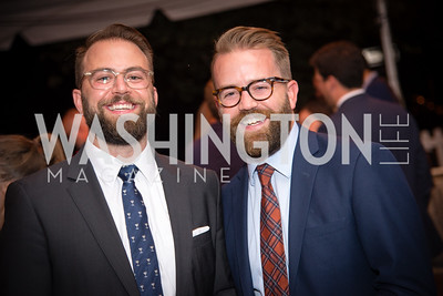 Ben LaRocco, Chase Burgess,16th Annual Dining away Duchenne, Eastern Market, September 13, 2016 .NEF