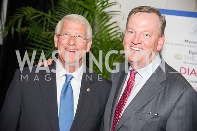 Event Chair Senator Roger Wicker, Joel Wood, 16th Annual Dining away Duchenne, Eastern Market, September 13, 2016-4.