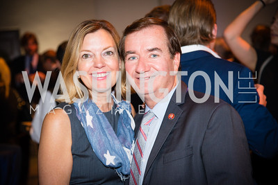 Congressman Ed Royce, Marie Therese Porter Royce,16th Annual Dining away Duchenne, Eastern Market, September 13, 2016