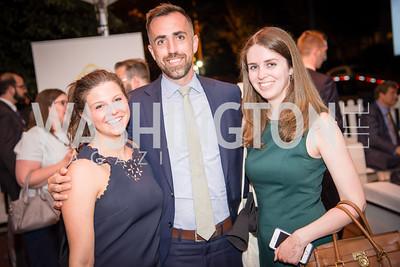 Bridget Hogan, Ben Brewster, Ellen Locke,16th Annual Dining away Duchenne, Eastern Market, September 13, 2016  .NEF