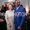 Debra Lee, Robert Battle. Photo by Tony Powell. 2016 Alvin Ailey Gala. Kennedy Center. February 2, 2016