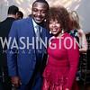Robert Battle, Gina Adams. Photo by Tony Powell. 2016 Alvin Ailey Gala. Kennedy Center. February 2, 2016