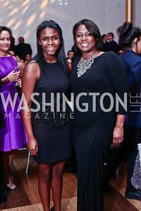 Morgan and Monica Thompson. Photo by Tony Powell. 2016 Alvin Ailey Gala. Kennedy Center. February 2, 2016