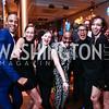 Ailey Dancers Yannick Lebrun, Elisa Clark, Megan Jakel, Renaldo Maurice, Masazumi Chaya, and Sarah Daley. Photo by Tony Powell. 2016 Alvin Ailey Gala. Kennedy Center. February 2, 2016