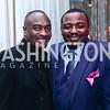 Reginald Van Lee, Robert Battle. Photo by Tony Powell. 2016 Alvin Ailey Gala. Kennedy Center. February 2, 2016