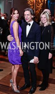 Reem Sadik, Septime Webre, Kay Kendall. Photo by Tony Powell. 2016 Alvin Ailey Gala. Kennedy Center. February 2, 2016