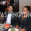 Andrew Jacobson, Jessica Stafford Davis. Photo by Tony Powell. 2016 Ambassadors Ball. Marriott Marquis. September 13, 2016