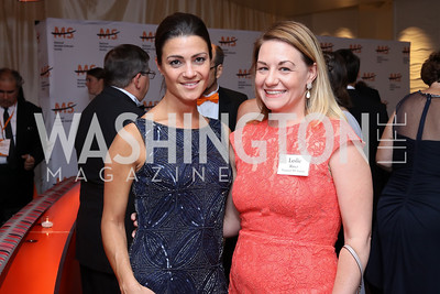 Danielle Steele, Leslie Ritter. Photo by Tony Powell. 2016 Ambassadors Ball. Marriott Marquis. September 13, 2016