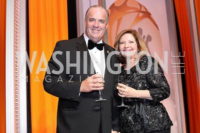 Rep. Dan Kildee, Jennifer Kildee. Photo by Tony Powell. 2016 Ambassadors Ball. Marriott Marquis. September 13, 2016