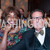 Rynthia Rost, MS Board Chair Russell Parker. Photo © Tony Powell. 2016 Ambassadors Ball. Marriott Marquis. September 13, 2016
