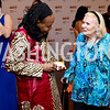 Niger Amb. Hassana Alidou, Donna Shor. Photo by Tony Powell. 2016 Ambassadors Ball. Marriott Marquis. September 13, 2016